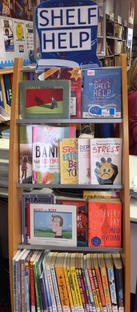 Shelf Help display 2017